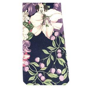 Mickey floral tie